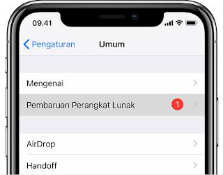 Mau Tahu!! 2 Cara Update iOS 12 di iPhone, iPad dan iPod