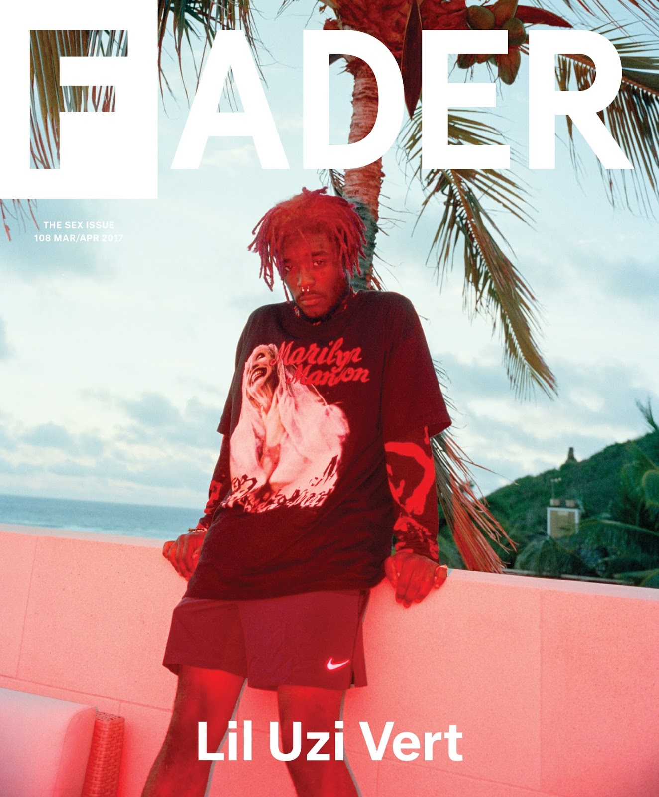 Lil Uzi (@liluzivert) Covers SEX issue of The FADER