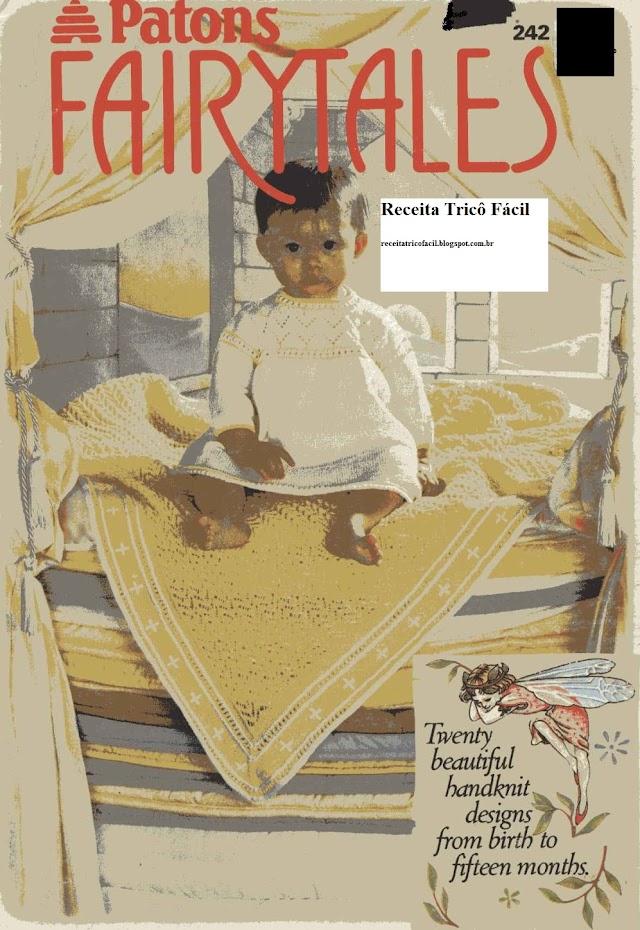 Revista Tricô Bebê-Patons fairytales