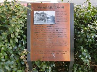 横浜為替会社設立の碑