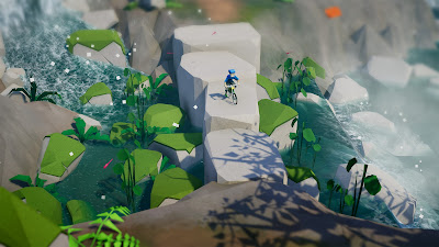Lonely Mountains Downhill Game Screenshot 2