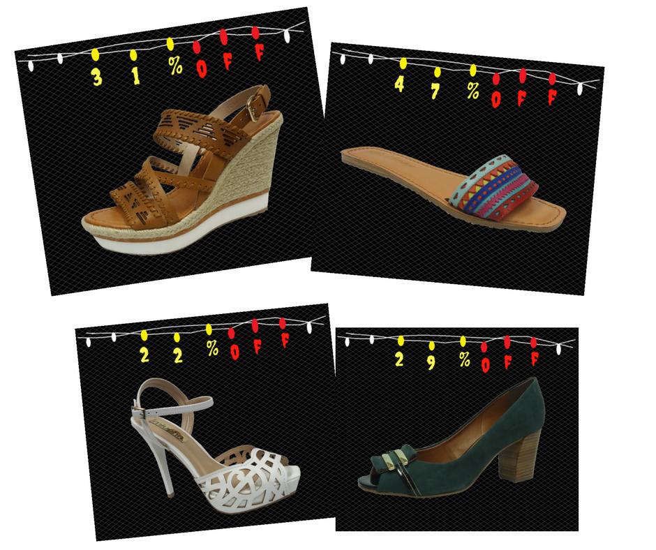 29fd85dc3f A Black Week começou na Dtalhe Calçados com descontos de até 60%. Foram  selecionados sapatos