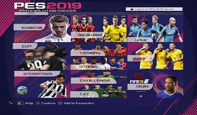 PES 6 Next Season Patch 2019 Season 2018/2019