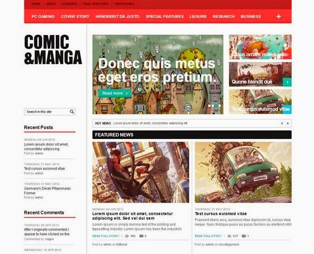 Comic WordPress Theme – ComicMag