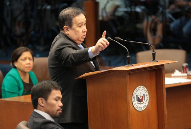 'I Can't Let This Pass.' Gordon To File Complaint Against De Lima's Walk Out