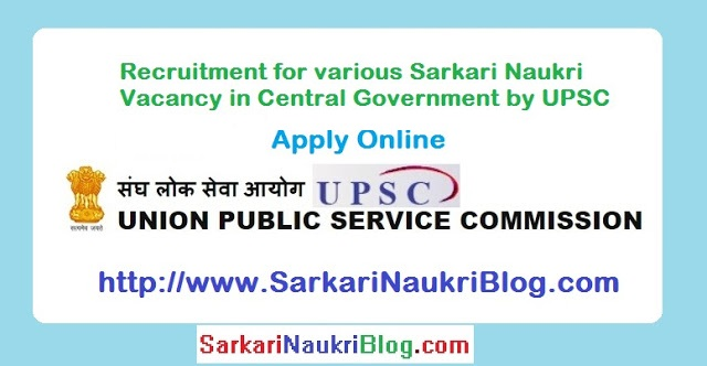 UPSC-Advertisement-for-naukri-job-vacancy