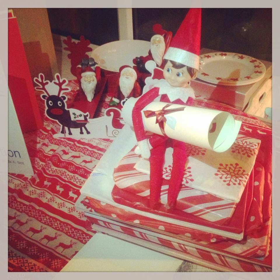 How to host an AWESOME North Pole Christmas Breakfast including tableware from TK Maxx, food ideas and table printables - elf on the shelf arrives