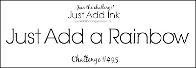 Jo's Stamping Spot - Just Add Ink Challenge #495
