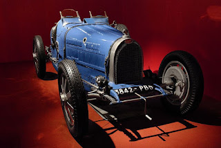 A Type 35 Bugatti, the car that brought the company many race successes, including its first Grand Prix