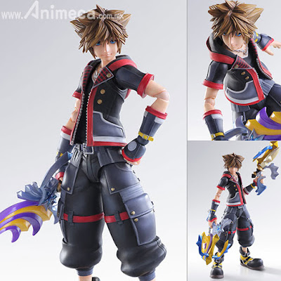 Figura Sora Play Arts Kai Kingdom Hearts III