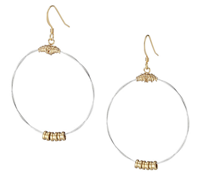 2017 gold hoops