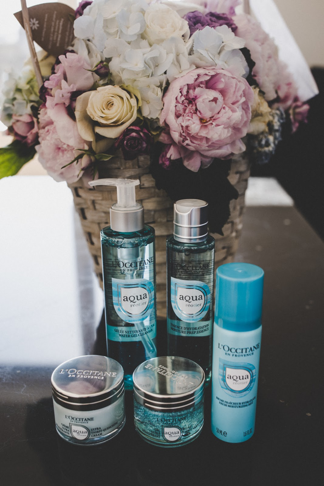 loccitane aqua reotier products review
