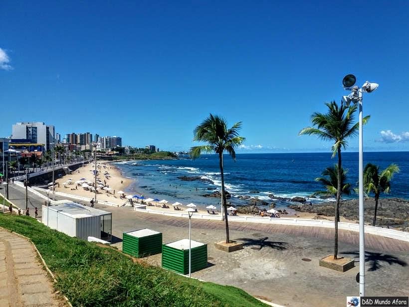 O que fazer em Salvador (Bahia) - Praia Farol da Barra