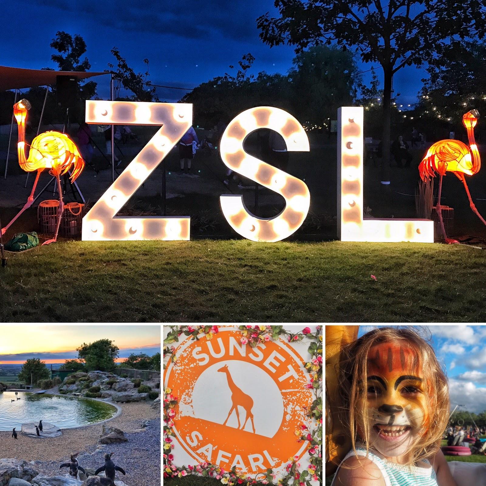 Sunset Safari ZSL Whipsnade Zoo