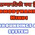 ऊष्मागतिकी क्या है (Thermodynamics in hindi) तंत्र तथा परिवेश (System, surroundings)