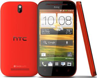 Spesifikasi Singkat HTC One SV