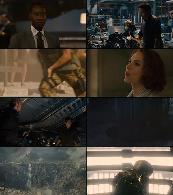 Avengers Age of Ultron 2015 Dual Audio HDRip 720p