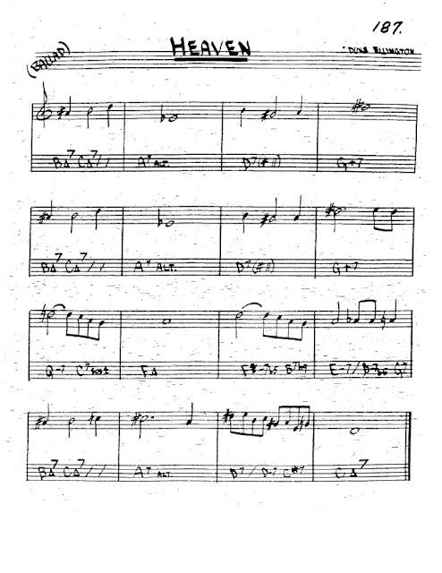 Partitura Trompeta Duke Ellington