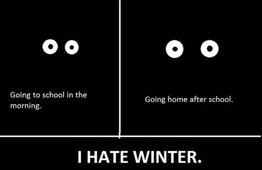 why winter sucks