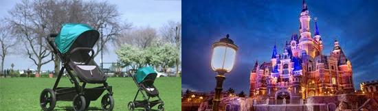 15 coisas estranhas proibidas na Disneylândia - Grandes Carrinhos de bebes