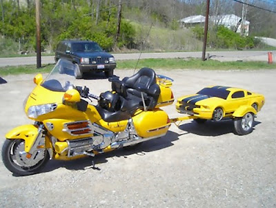 Creative Car Trailers and Cool Motorbike Trailers (15) 12