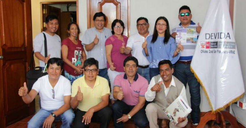 MINEDU y Devida socializan iniciativa de educación comunitaria y productiva para productores alternativos del Vraem