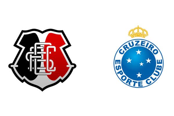 Deixe seu palpite no jogo Santa Cruz X Cruzeiro - Campeonato brasileiro 2016