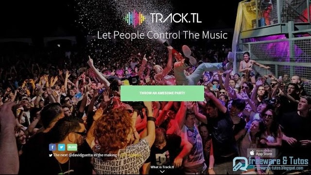 Track.tl  : le jukebox interactif en ligne