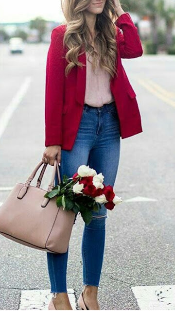 Cute Valentines Day Outfit Ideas For Women
