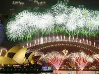 Merayakan Tahun Baru Di Sydney Pesta Kembang Api Di Opera House