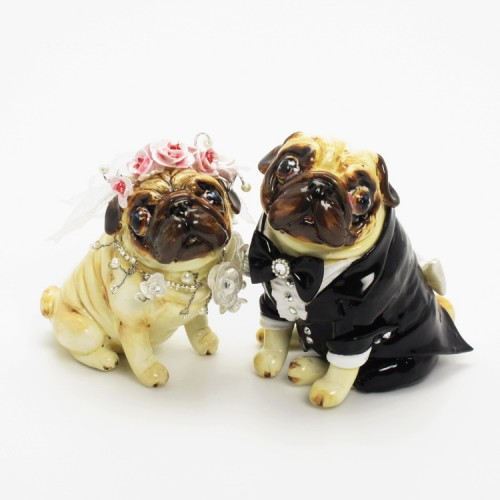 Pug Lover Gifts Cake Topper