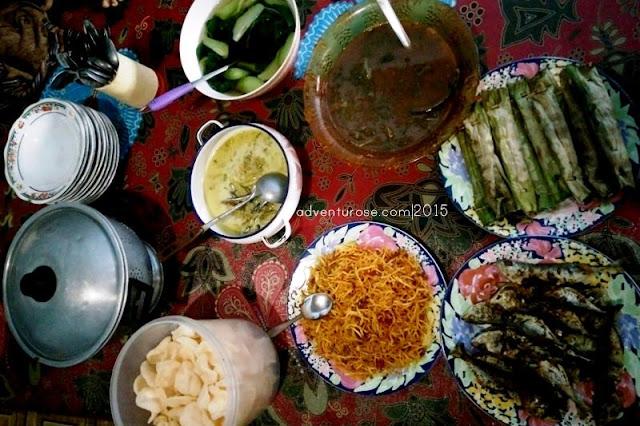 kuliner sembalun, kuliner lombok, suberang, apes, kelak batih, kelak sin, banteng nganga