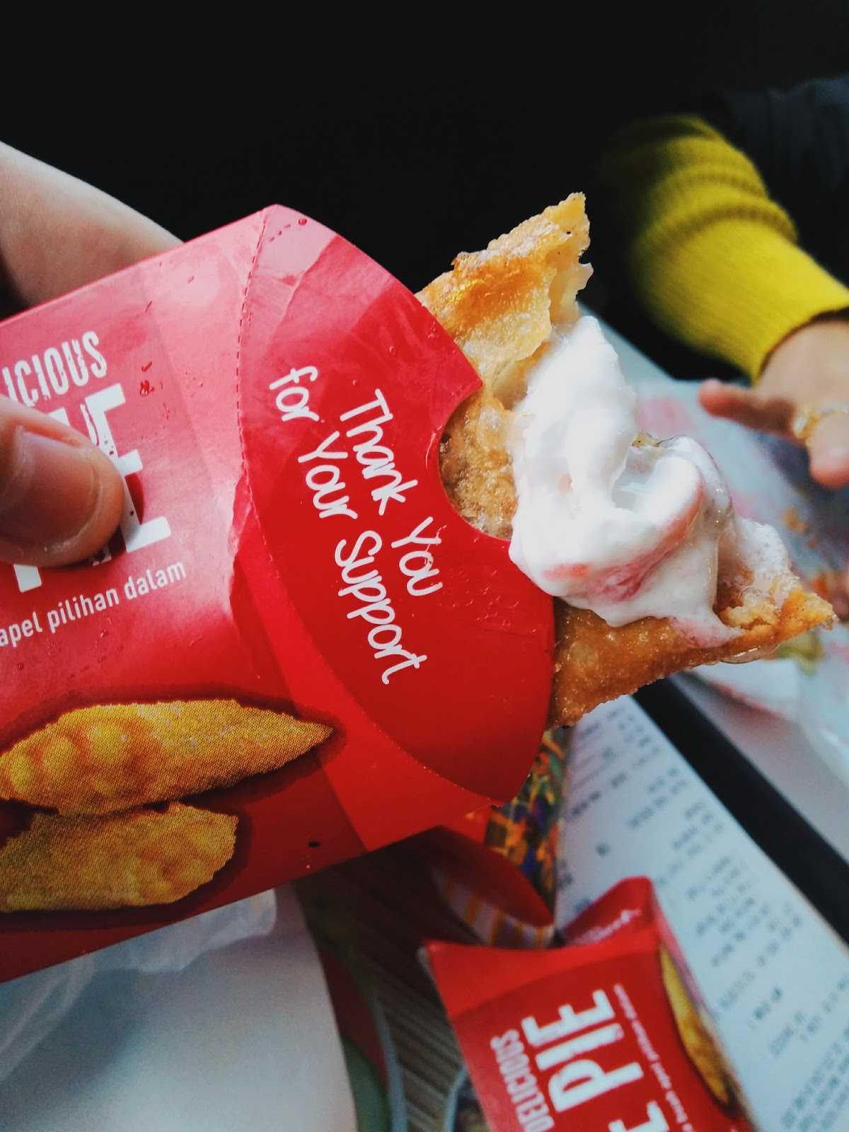 Dont Touch My Food UPDATED Apple Pie Mcdonalds Indonesia