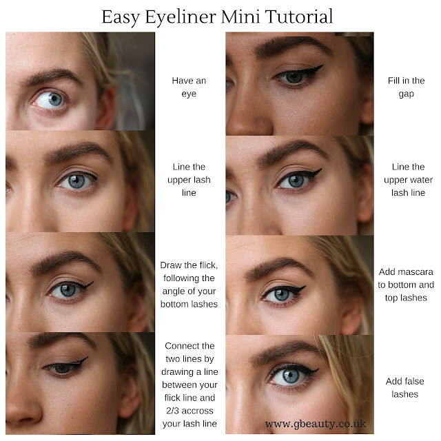 Eyeliner Makeup For No Lashes: G Beauty