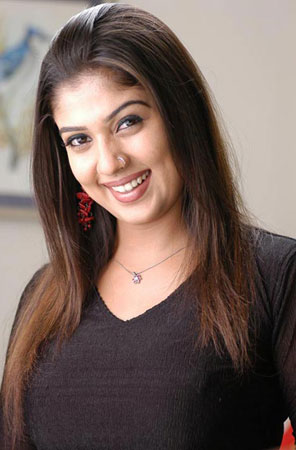 South Indian Actress Nayanthara Hairstyle Pictures Best