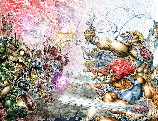 Crossover comic He-Man and Thundercats Announced for October 2016!!