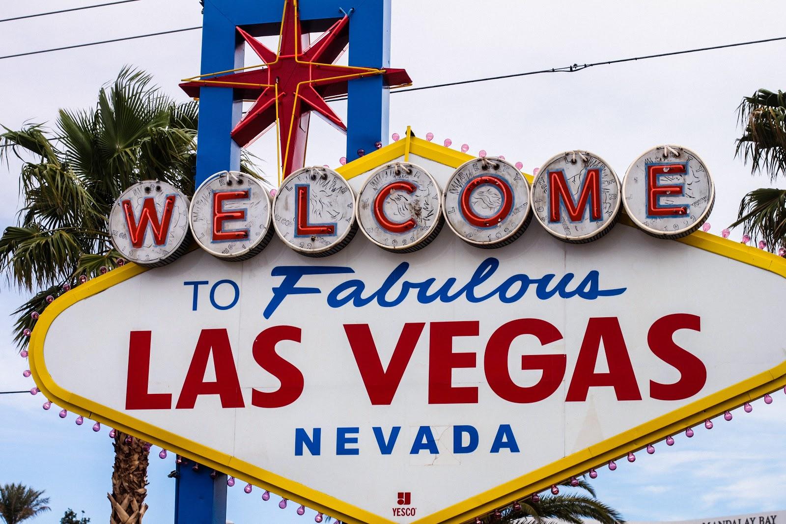 road trip USA Las Vegas