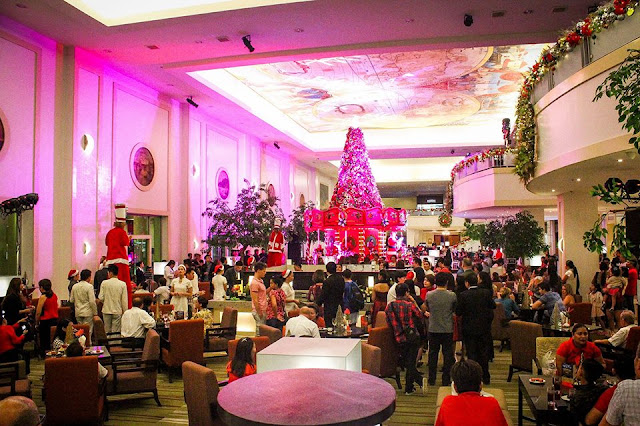 Waterfront Cebu City Hotel and Casino Christmas tree
