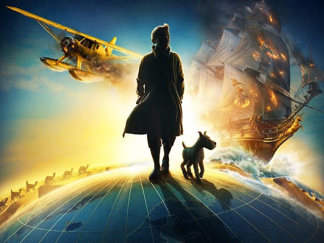 Render 3D imagen nº 2 de la película Las aventuras de Tintin: El secreto del Unicornio