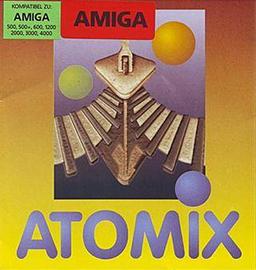 Portada videojuego Atomix