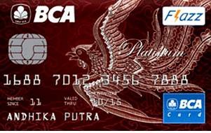 Kartu kredit BCA Card Platinum