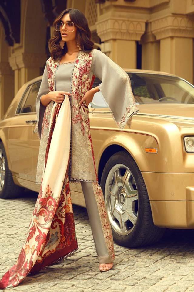 Pakistani Designer Faraz Manan Ready To Wear Luxury Collection 2018