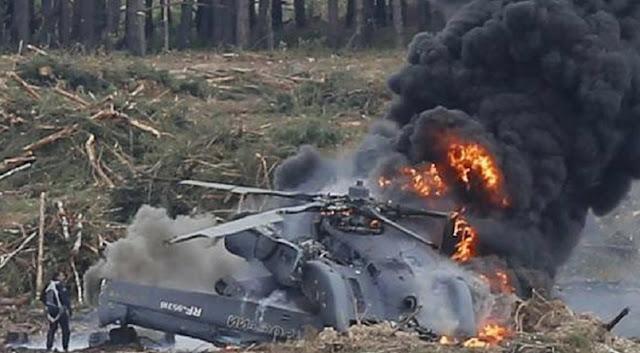 Um helicóptero do exército iraquiano caiu durante um voo de rotina no domingo, matando todas as sete pessoas a bordo, disseram fontes militares e oficiais iraquianos à Reuters.