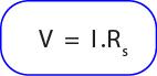 rumus tegangan pada rangkaian seri resistor