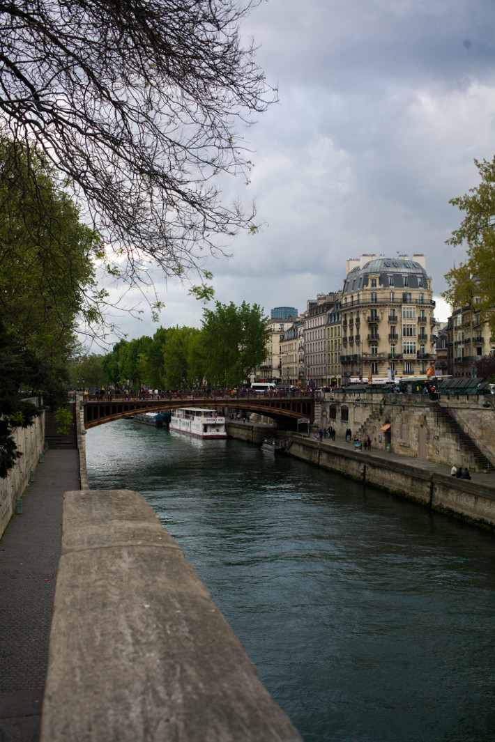 the Seine, 48 hours in Paris