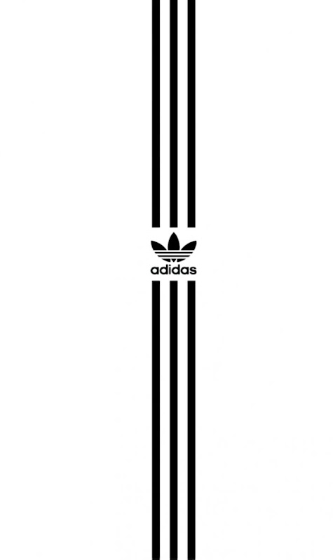 Adidas Logo White Wallpapers Hd Wallpapers Sinaga