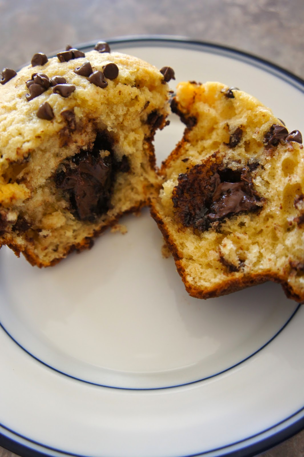 Stuffed Chocolate Chips Muffins: Savory Sweet and Satisfying