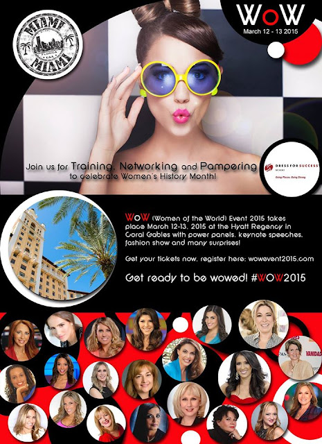 Wow2015 Women of the World Miami Event Female Empowerment Training,Networking,Pampering