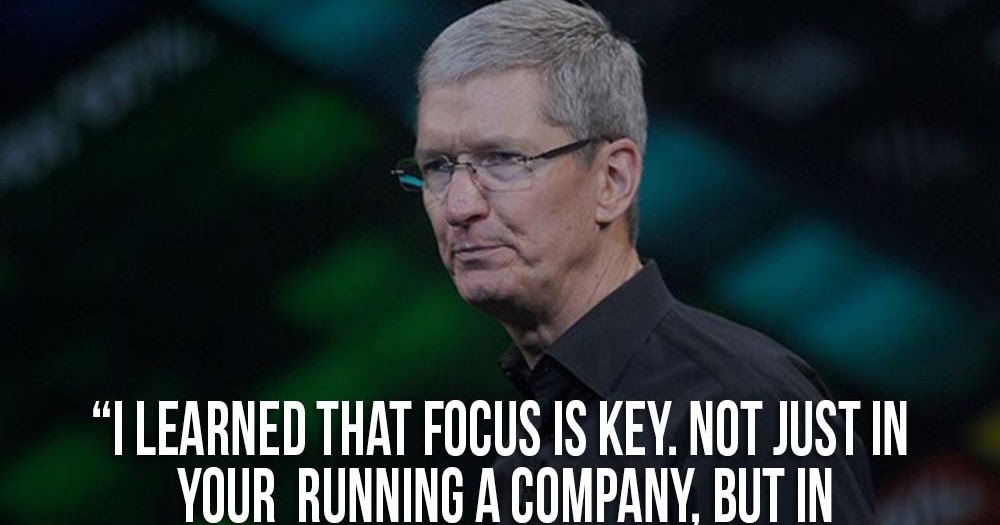 Bootstrap Business Tim Cook Quotes