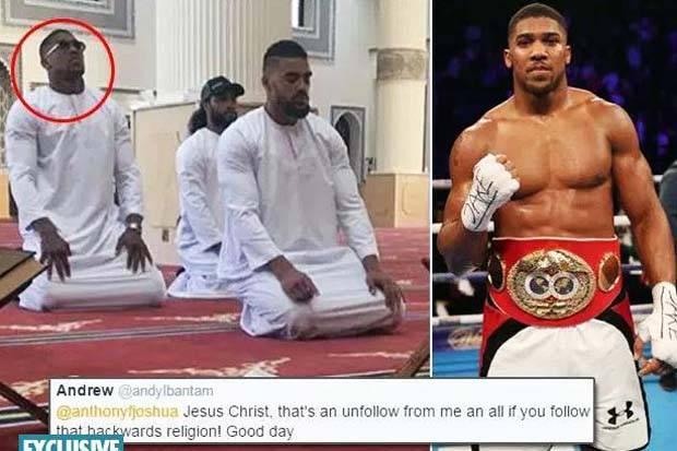 Lakukan Shalat Di Masjid Dubai, Juara Dunia Kelas Berat IBF Ini Dilecehkan Netizen Yang Anti Islam